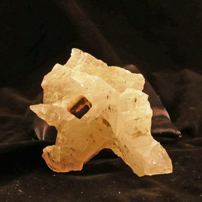 Convoluted sheet quartz