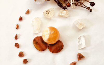 Celebrating the Fall Season: Crystal Grids